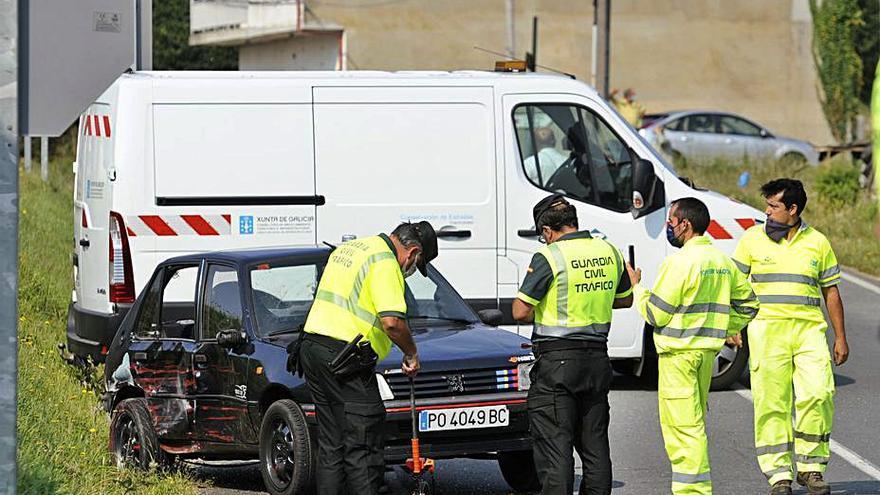 Fallece atropellada en Vila de Cruces por un coche que había colisionado con un camión