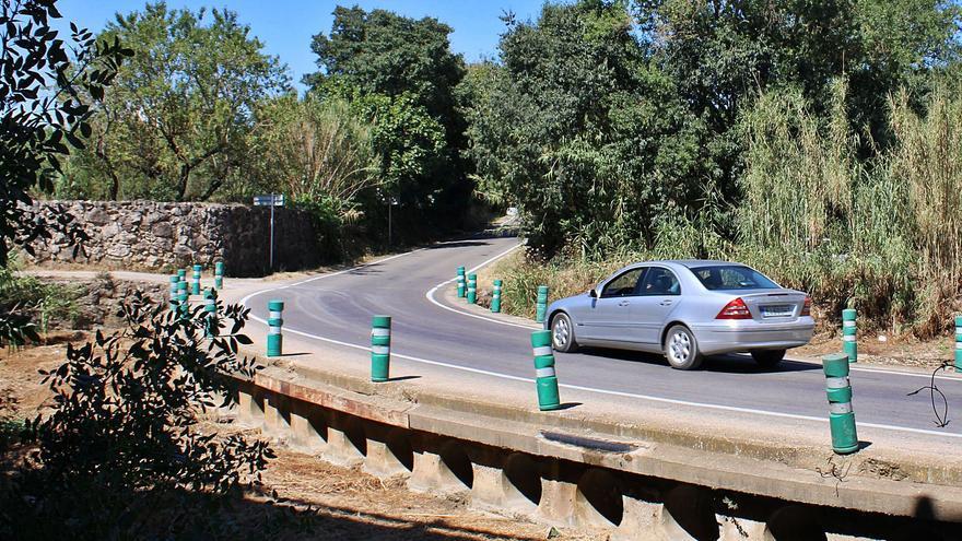 Vilafant guanyarà connectivitat i seguretat amb el pont del Manol