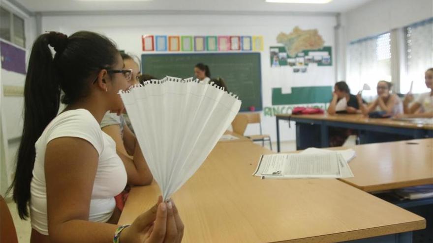 IU denuncia que es la Junta quien tiene abandonados los colegios desde hace décadas