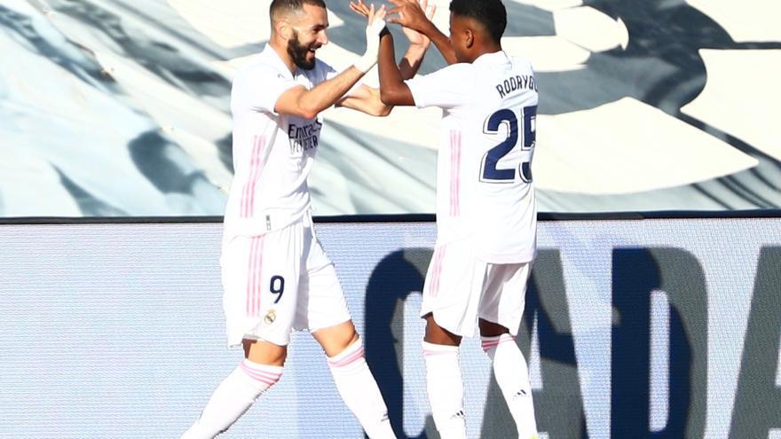 El Real Madrid afina la puntería contra el Huesca