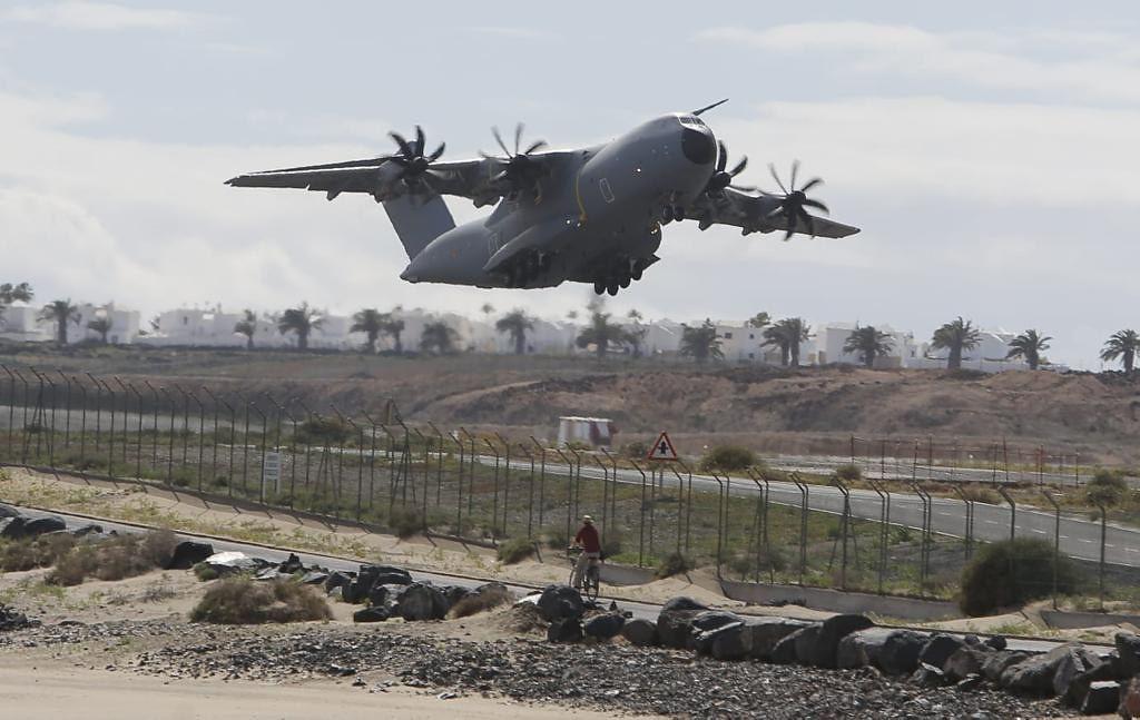 Curso de Entrenamiento Avanzado de Transporte Aéreo Militar Europeo en Canarias