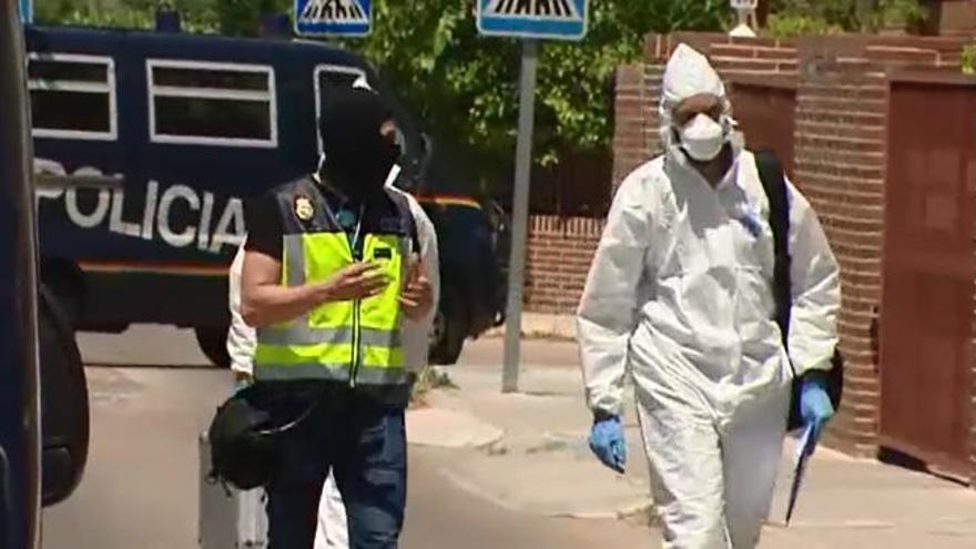 Diez detenidos en Madrid por financiar actividades yihadistas