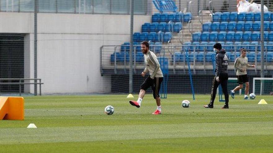 El Madrid regresa al trabajo con Hazard y Marco Asensio