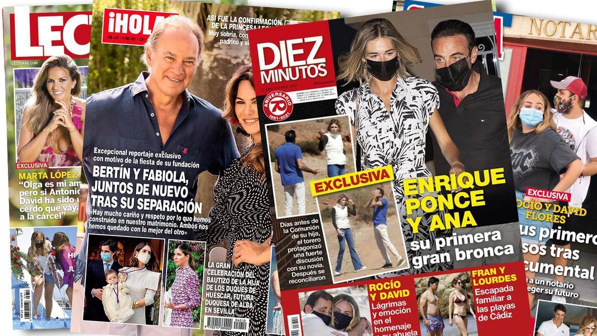 Prensa Rosa: Portadas 02/16/2021