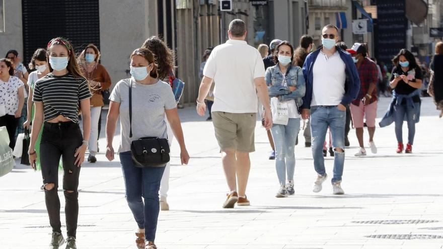Suben en dos los casos activos en Galicia, hasta 310, y aumentan los curados a 10.611