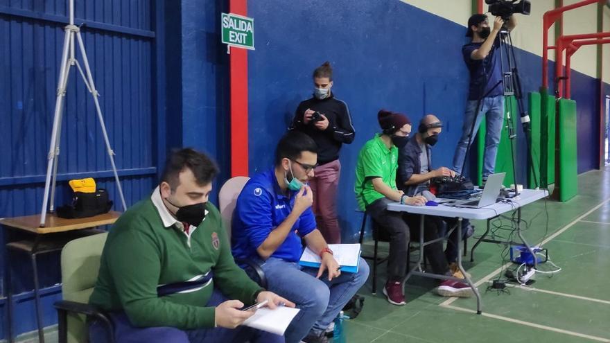 EBG Málaga retransmite sus partidos en directo por YouTube y Twitch