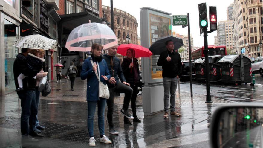 La lluvia deja más de 60 litros por metro cuadrado en Barx y Villalonga