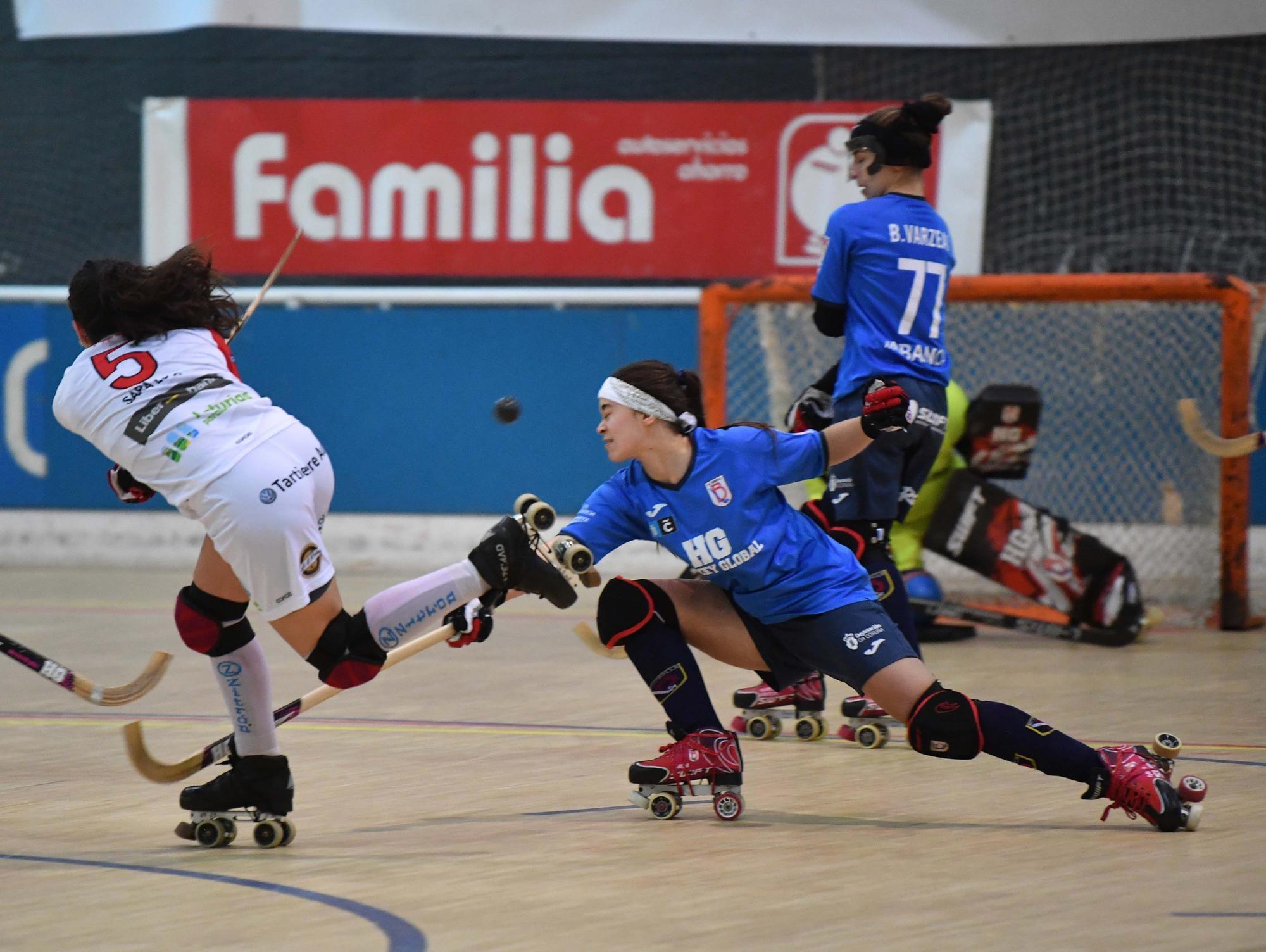 El Telecable Gijón le gana 2-6 al Borbolla