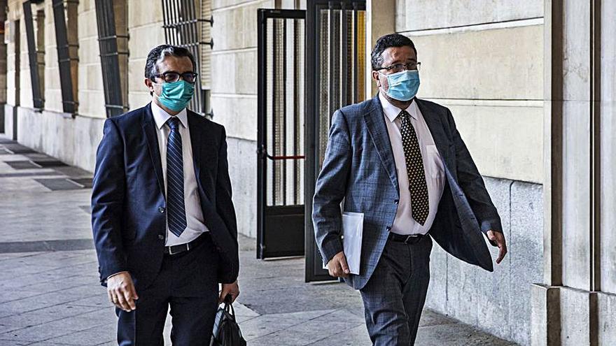"""Serrano, tras declarar ante el juez: """"Confío en la Justicia"""""""