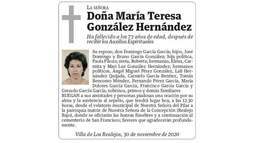 María Teresa González Hernández