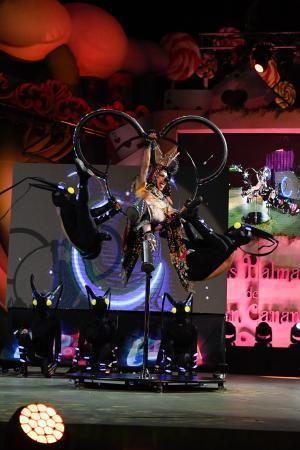 28-02-2020 LAS PALMAS DE GRAN CANARIA. Gala Grag. Drag nº 04: The Quest Arte Fantástico presenta a Drag Eiko, con un diseño de Manu Marvel, con la fantasía 'Game Over'. Drag Eiko es Echedey Fernández Trujillo.    28/02/2020   Fotógrafo: Juan Carlos Castro