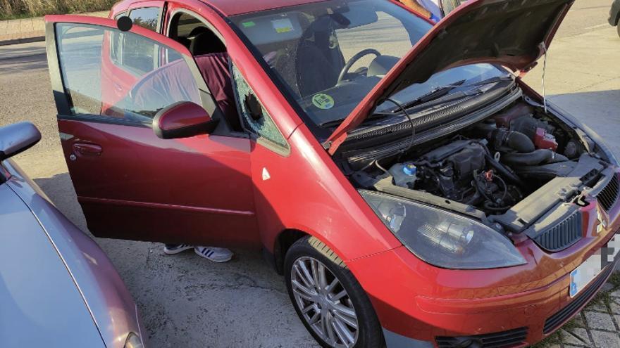 Agresiones a coches en Río Tinto