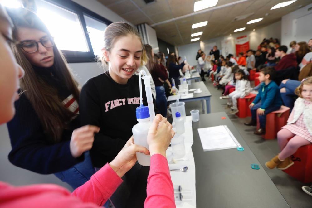 Día de la niña y la ciencia en el Vivarium