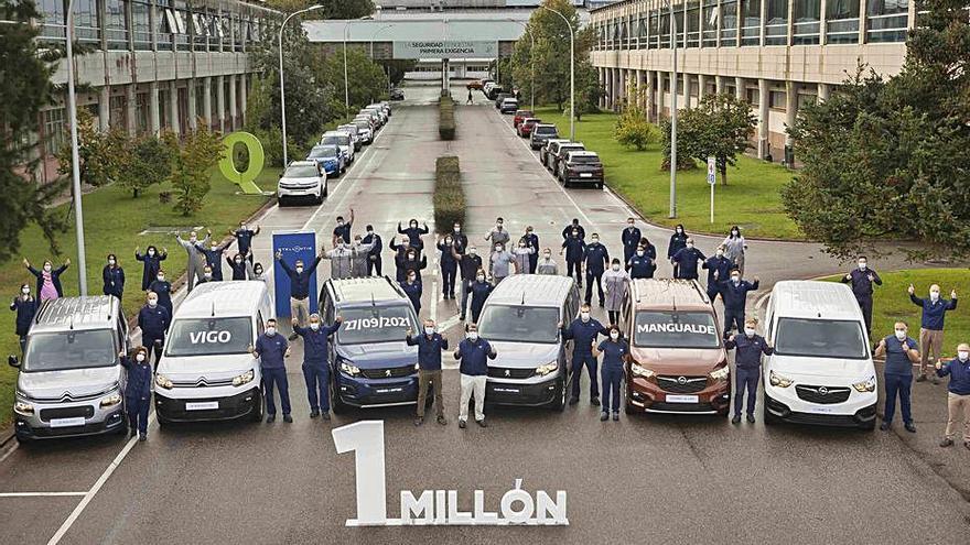 Stellantis supera el millón de las nuevas furgonetas que fabrica en Vigo