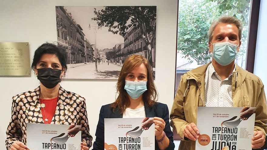 La ruta Tapeando con Turrón por Jijona vuelve este viernes  tras el parón por la pandemia