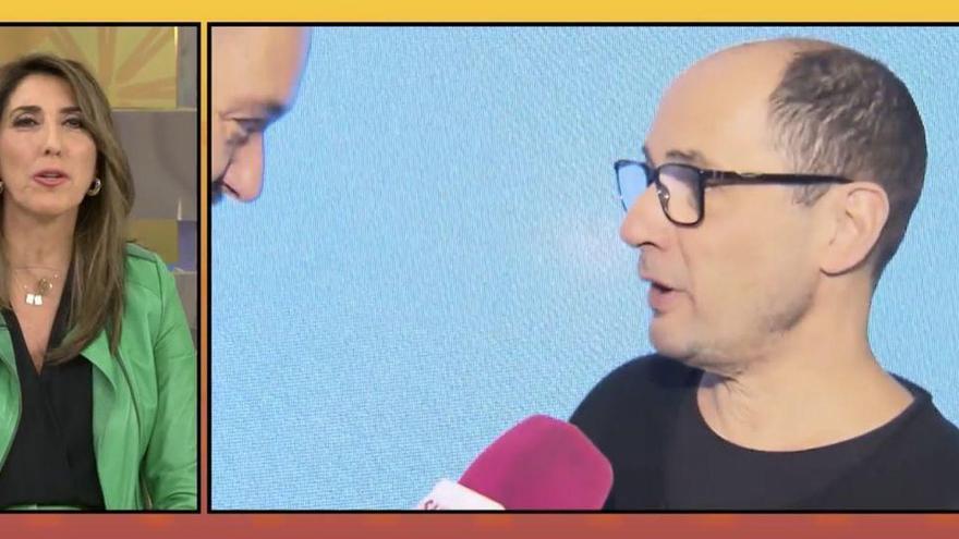 Paz padilla s'emociona en explicar la millora de Jordi Sanchez