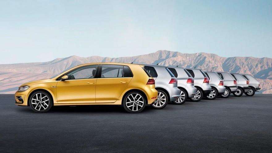 Los cinco coches de segunda mano más vendidos en 2021