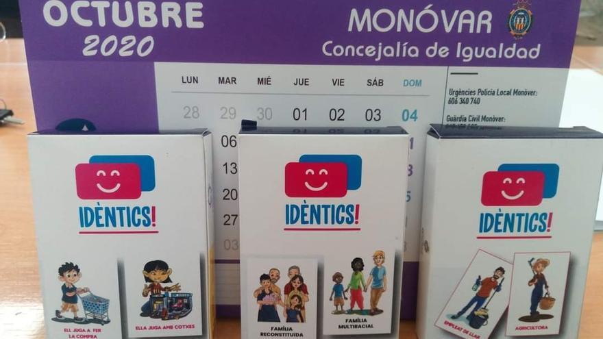 Juegos de cartas por la Igualdad en Monóvar