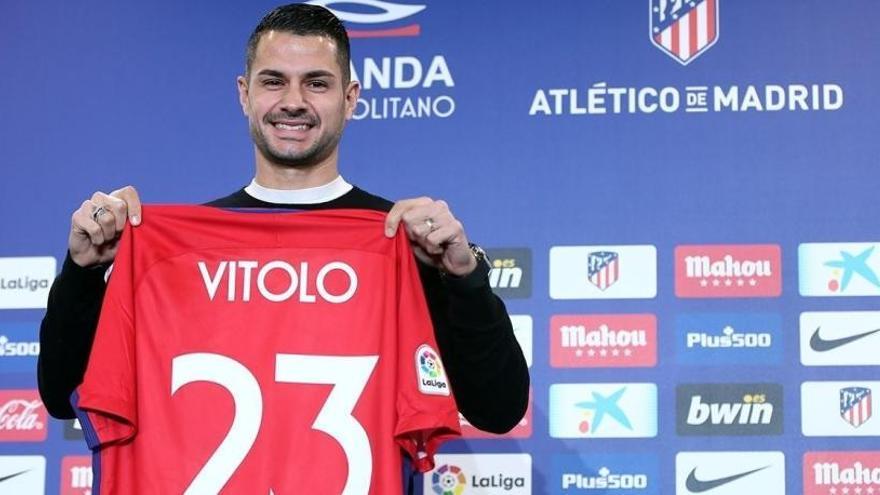 """Vitolo llega al Atlético: """"Vengo a jugar y ganar títulos"""""""