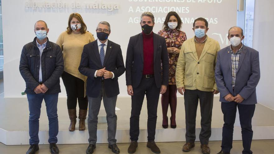 La Diputación concede 377.000 euros en ayudas para el sector agrario
