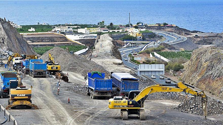Obras Públicas abre el nuevo tramo de la Circunvalación Arucas-Costa