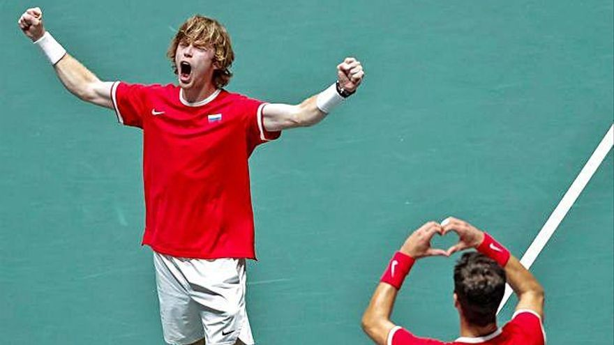 Copa Davis Rússia-Canadà, primera semifinal
