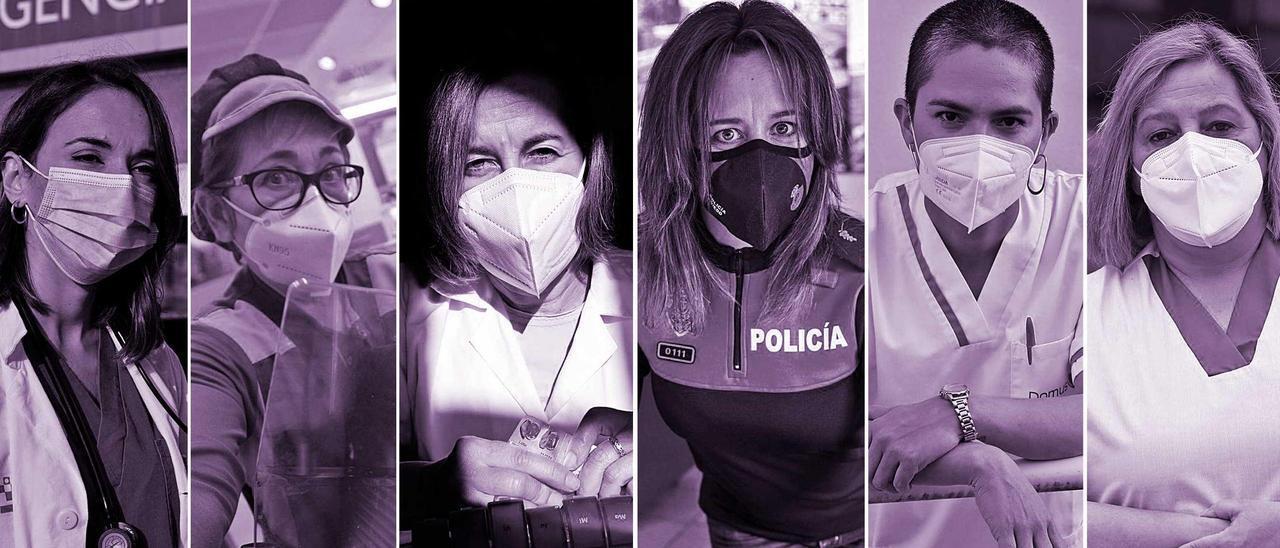 Las mujeres que nos cuidaron este año: retrato de las profesionales que sacaron adelante a un país atemorizado por el covid