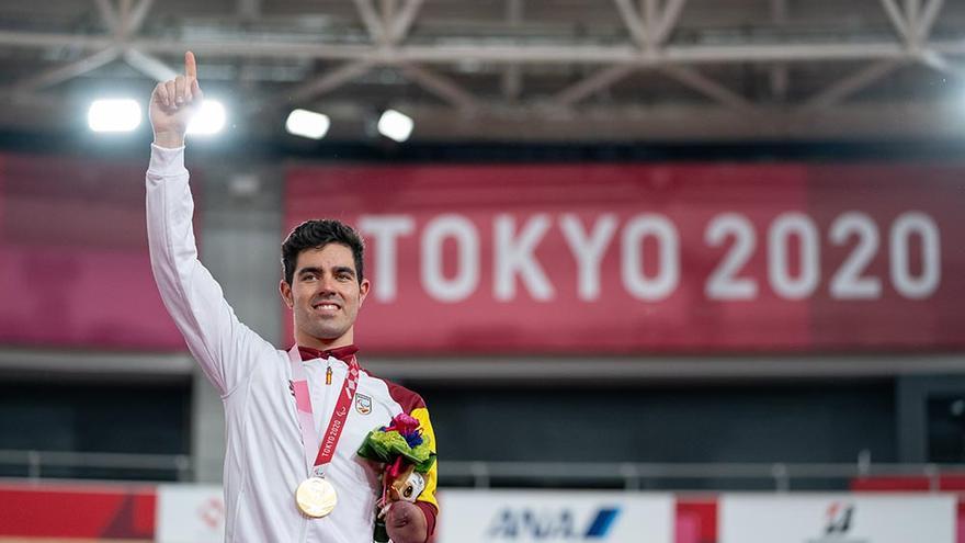 Alfonso Cabello, oro en los juegos de Tokio