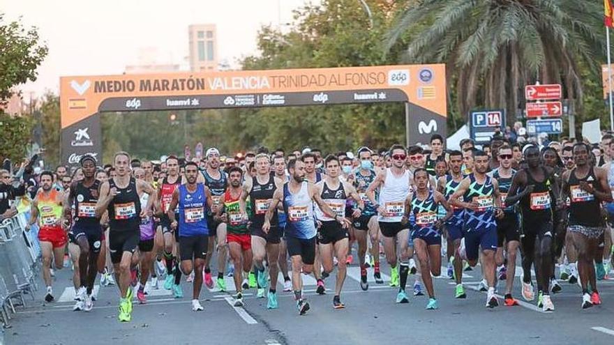 Ensayo general para el Maratón Valencia Trinidad Alfonso 2021