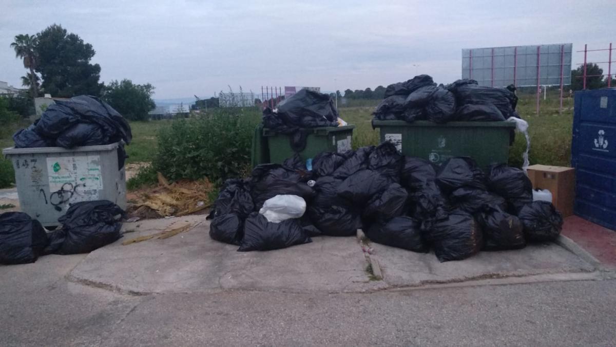 Una residencia de Bétera ignora el protocolo de residuos