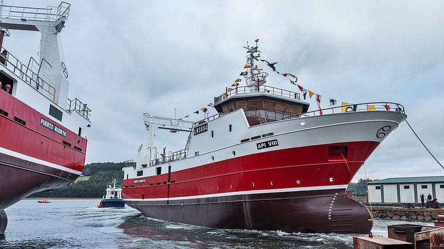 Armón construye otro pesquero de mariscos para Argentina tras botar dos el pasado año