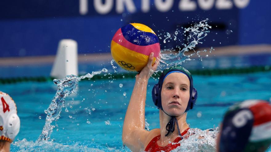 Tokio 2020, waterpolo femenino: España - Hungría