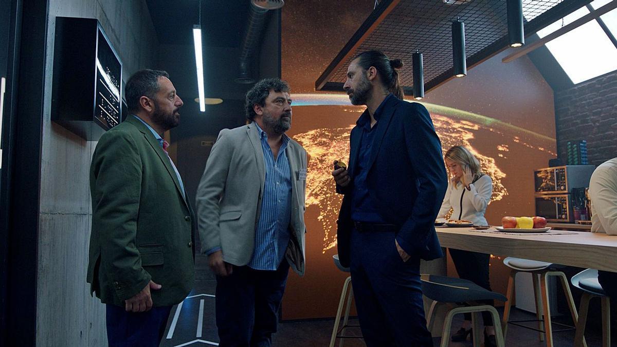 Una de las primeras imágenes de la nueva temporada «Los hombres de Paco». | ANTENA 3
