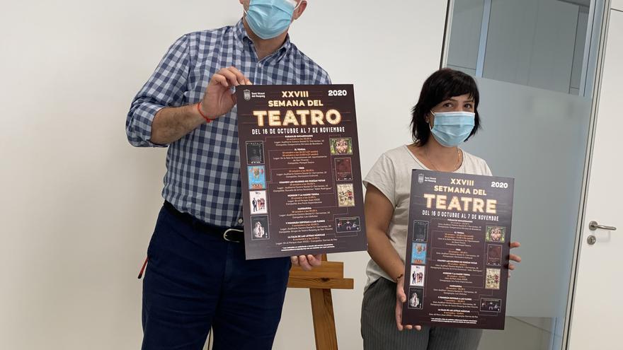 San Vicente arranca el 16 de octubre la XXVIII Semana del Teatro con restricciones de aforo