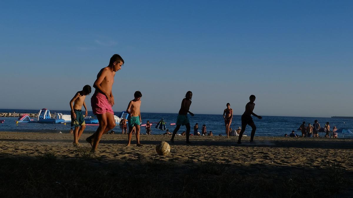 Fin de semana marcado por el calor en Málaga capital