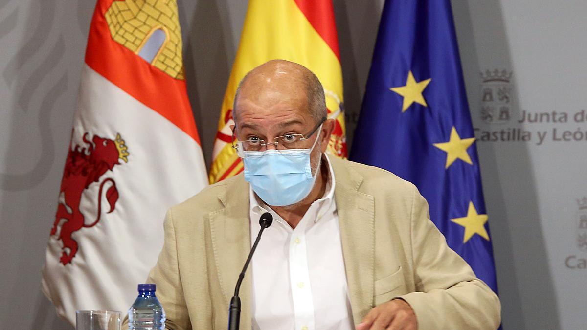Francisco Igea, vicepresidente y portavoz de la Junta de Castilla y León.
