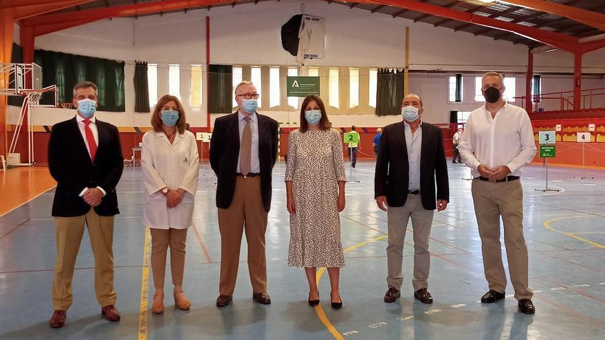 El Ayuntamiento de Ronda habilita el polideportivo El Fuerte como centro de vacunación masiva