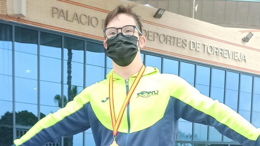 Guillermo Gracia logra su primer oro en el Campeonato de España de este año