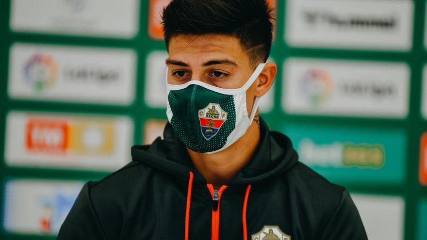 """Rigoni: """"El Elche es un equipo chico recién ascendido, pero debemos cambiar el chip porque somos muy competitivos"""""""
