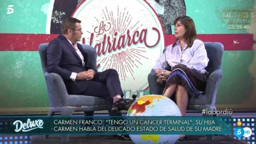 "Carmen Martínez-Bordiú: ""Me da miedo perder a mi madre"""