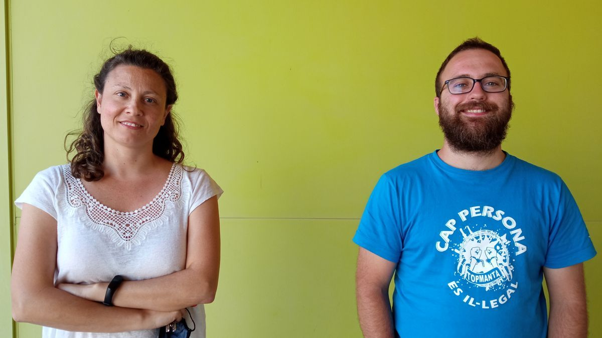 Nunilo Cremades, izquierda, y Pablo García, derecha, de UNIZAR forman parte de la investigación