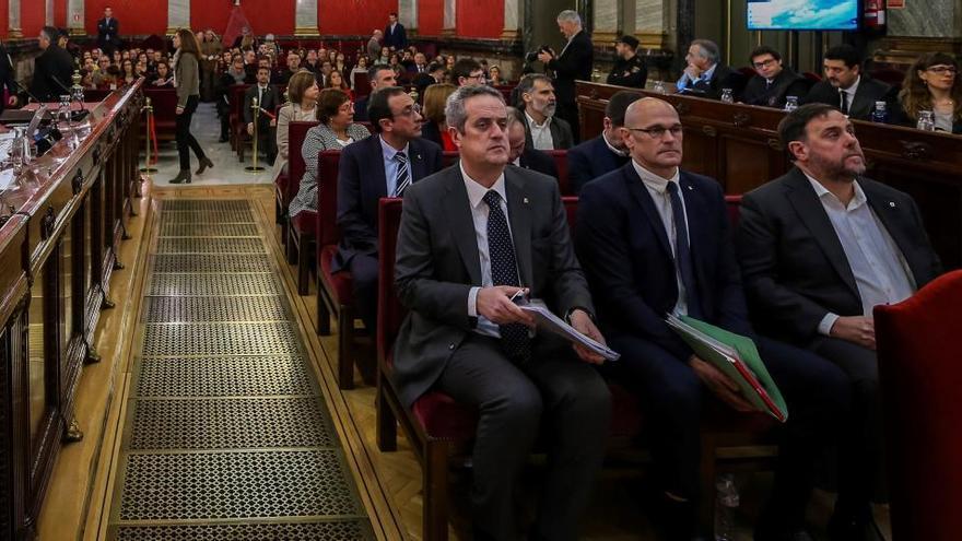 El Tribunal Supremo se inclina por impedir la semilibertad de los presos del 'procés'
