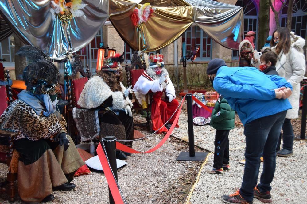 Els Reis d'Orient arriben a Berga