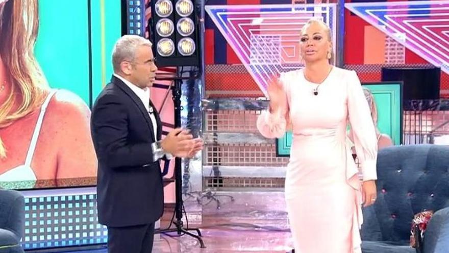 Belén Esteban se enfrenta a Jorge Javier en directo