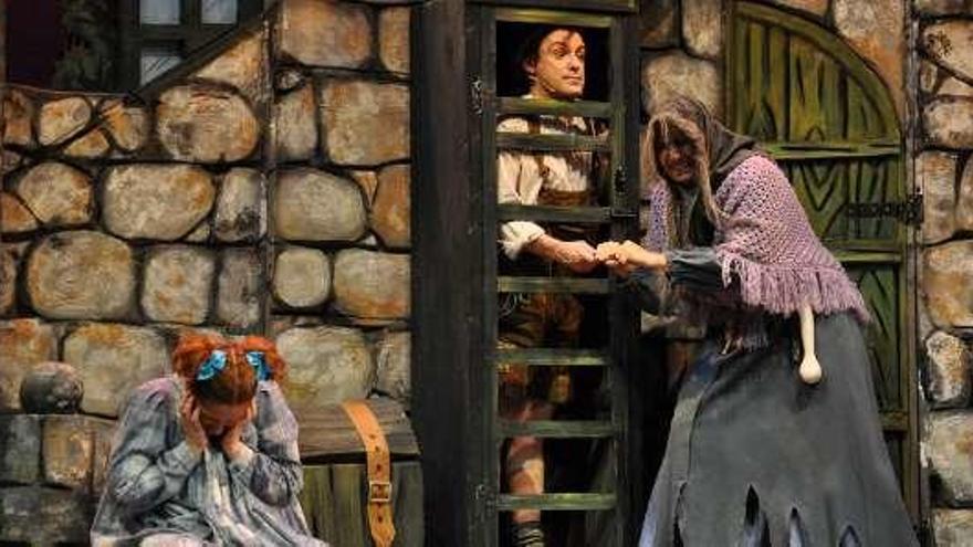 Hansel y Gretel, en versión musical, hoy en Cangas
