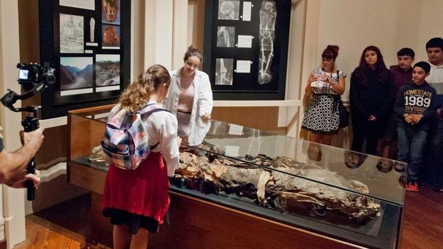 'Las aventuras de Goyo' muestra el Museo Canario a los más jóvenes