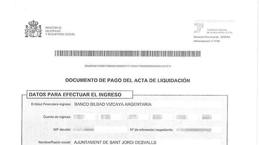 Sant Jordi paga 45.000 € per no declarar sous de càrrecs electes
