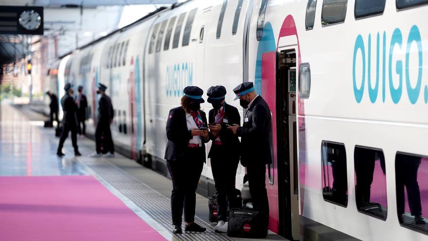 Prestación del servicio ferroviario lowcost Ouigo