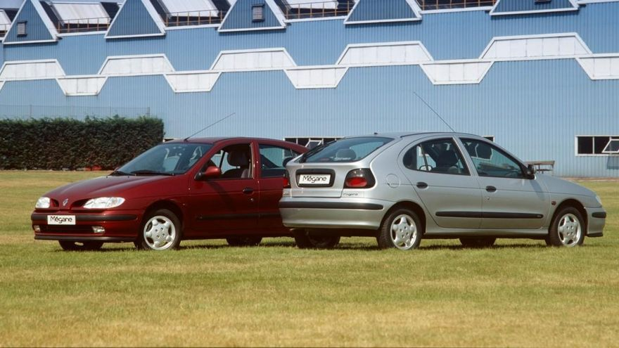 La familia Renault Mégane cumple 25 años de historia