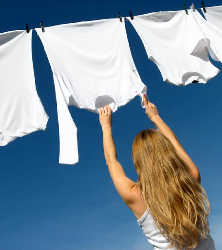 Cómo dejar tu ropa blanca impecable y como recién comprada
